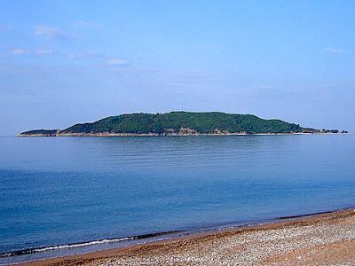адриатическо море будва остров свети никола
