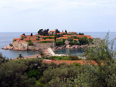 адриатическо море будва остров свети стефан