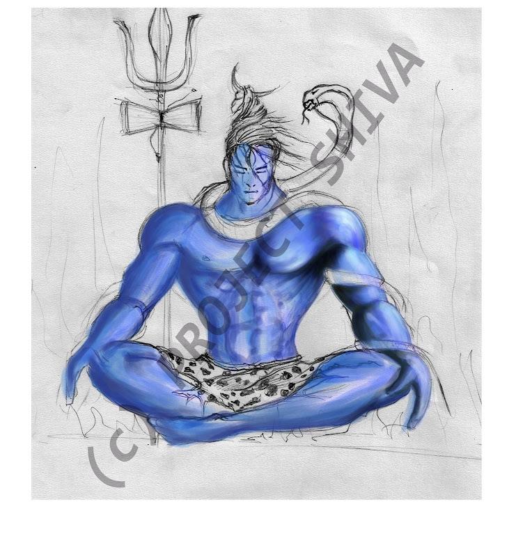 Shiva Coloured 1