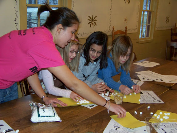 Girl Scout troop visits are always a big hit with our members at the University of Michigan.