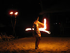 girl fire dance