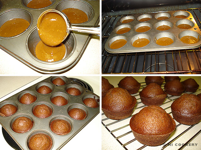 St. Ninian's Gingery Muffins