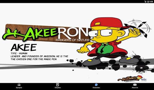 AkeeRON Comic screenshot 6
