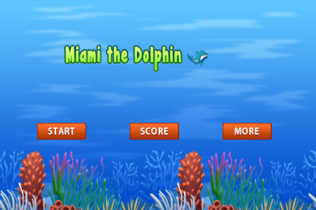 Miami the Clumsy Dolphin screenshot 0