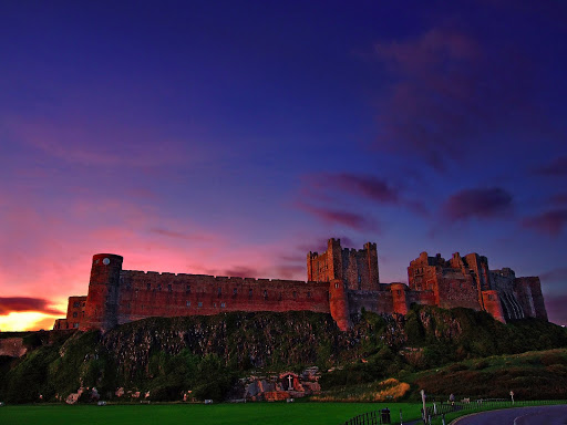 Bamburgh Castle by Andrew Brown