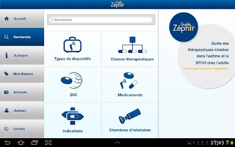 Guide Zéphir screenshot 4