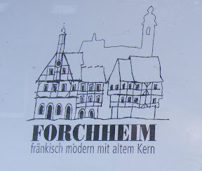 A sign for Forcheim.