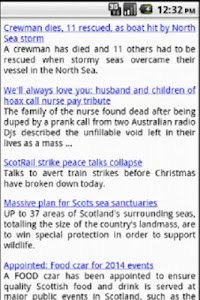 Scottish News screenshot 1