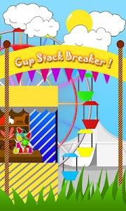 Cup Stack Breaker screenshot 0