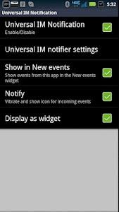 SmartWatch Universal IM screenshot 1