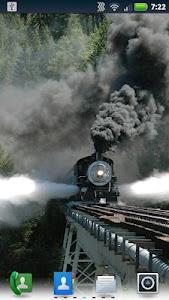 Trains on Bridges Wallpaper screenshot 0
