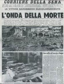 Corriere della Sera 10 Ottobre 1963