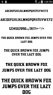 Fonts for FlipFont 50 #9 screenshot 02