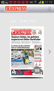 L'Express journal screenshot 1