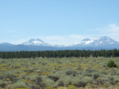 Die Three Sisters in Oregon