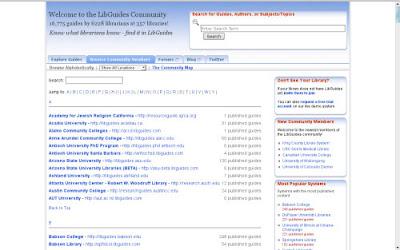 LibGuides Communities
