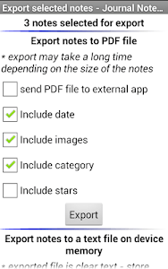 Diary Notes Multimedia screenshot 5