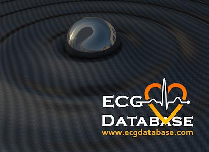 ECG database screenshot 1