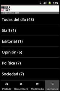 Melilla Hoy screenshot 3