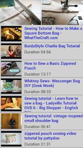 Sewing Tutorial Bags screenshot 0