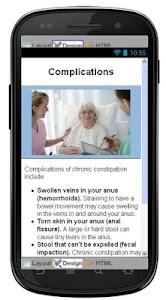 Constipation Information screenshot 5
