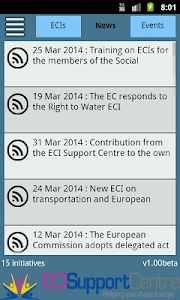 ECI Support Centre screenshot 1