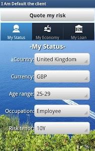 Risk Estimater by I Am Default screenshot 11