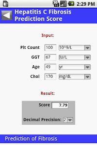 MedCalc 3000 G.I. screenshot 2