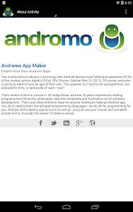 Andromo Sample screenshot 19