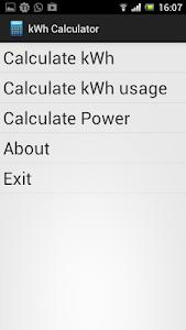 kWh Calculator Free screenshot 2