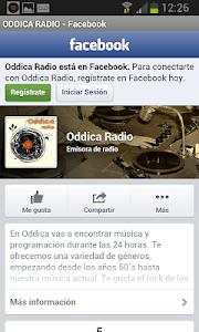 Oddica Radio screenshot 1