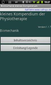 Physiokompendium Biomechanik screenshot 5