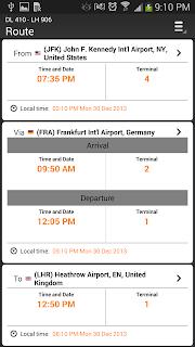 Airline Flight Status Tracking screenshot 07