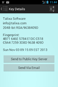 PGP Secure Mail screenshot 6