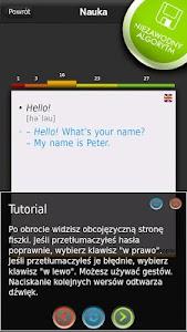 FISZKI Angielski Czasowniki A screenshot 2