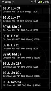GPS ILS screenshot 2