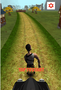 Village Freak Run 3D screenshot 0