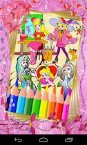Coloring For Kids - Princess - screenshot thumbnail 01