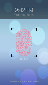 Fingerprint lock prank Pro screenshot 2