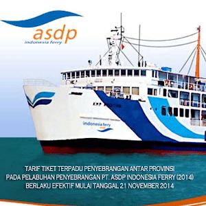 Tarif Tiket Kapal PT. ASDP