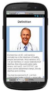 E Coli Disease & Symptoms screenshot 1