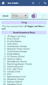 Mysore Bus Info screenshot 1