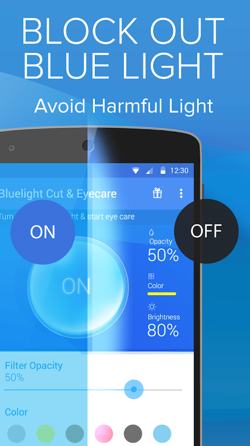 Blue Light Filter Android