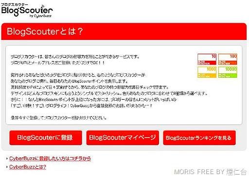 blogscouter