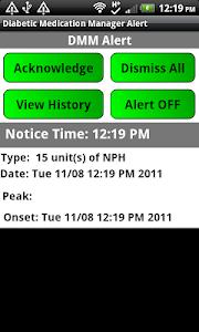 Diabetic Insulin LogAlert Paid screenshot 6