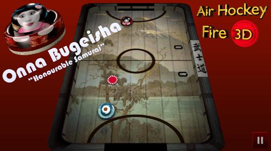Air Hockey Fire 3D screenshot 10
