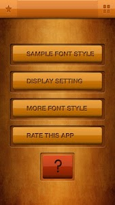 Zawgyi Design Galaxy Font screenshot 0