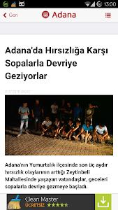 Adana Haberleri screenshot 1