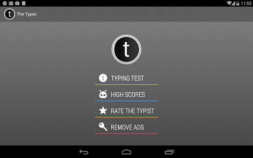 Typist: A Quick Typing Test - Android Apps on Google Play