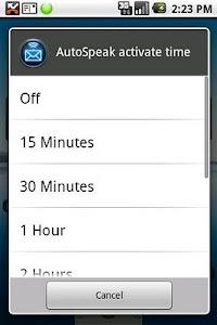 HandsFree SMS Trial screenshot 1